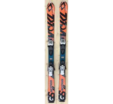 Volkl racetiger GS jr orange / vert (enfant)